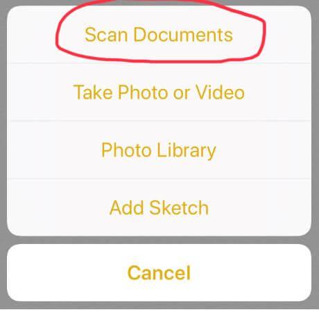 Document scanner